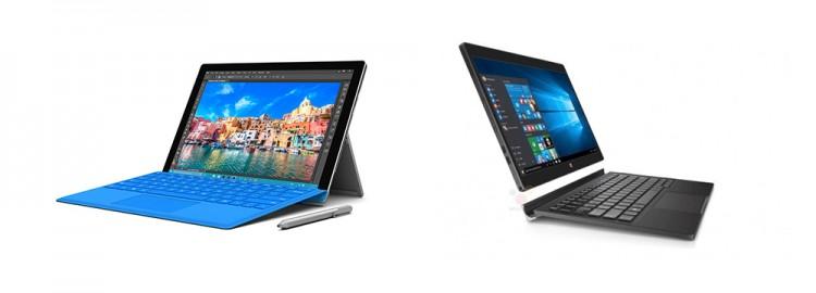Let's Compare: Surface Pro 4 vs Dell XPS 12